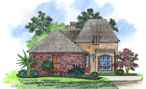 Cs1625 plan details for Acadiana homes